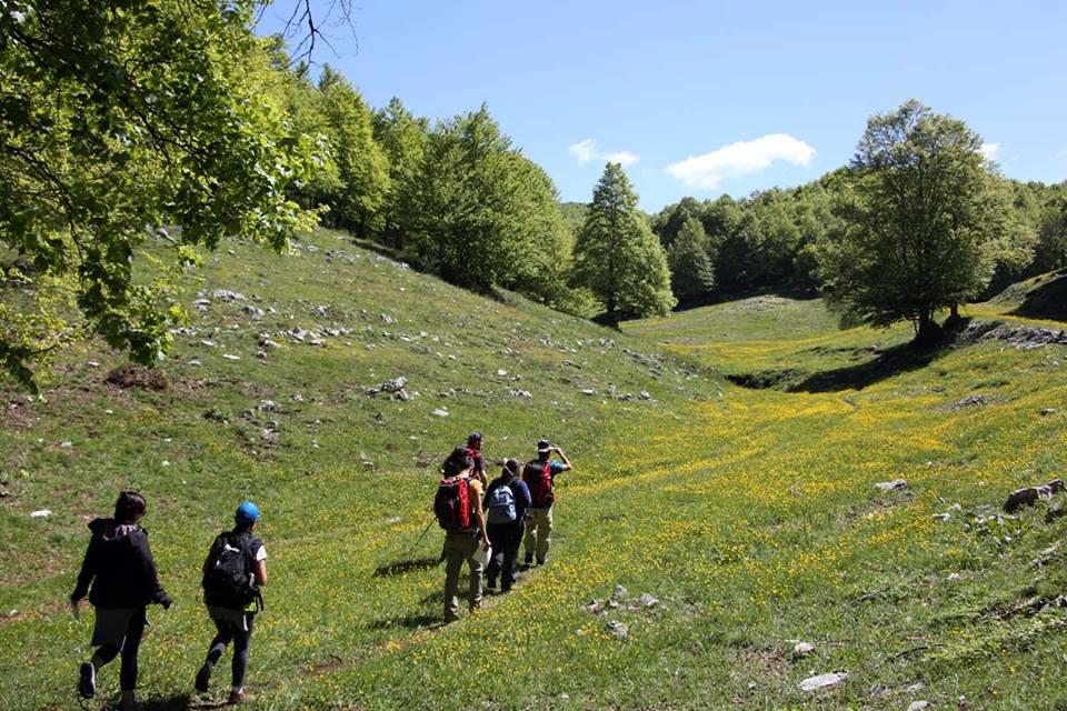 trekking nel parco dei Monti Simbruini grazie all'offerta di Green Park Madama