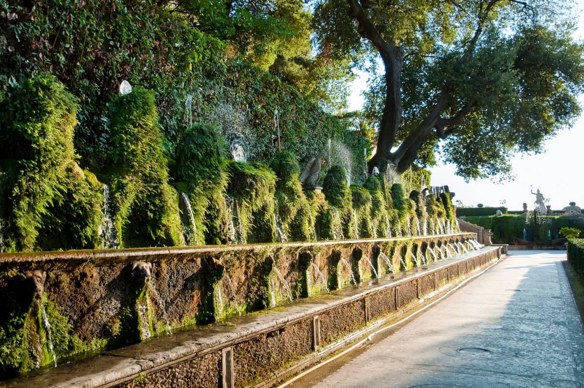 Le cento fontane di tivoli ecco perch devi visitarle for Villa d este como ristorante